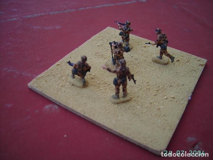 Juegos Antiguos: DIORAMA SOLDADOS AMERICANOS EN IRAK.ESCALA 1/72. - Foto 3 - 269771333