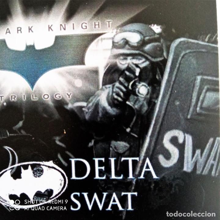 Juegos Antiguos: GORDON SWATS SET Kit METAL DC UNIVERSE BATMAN MINIATURE GAME Knight Models 35MM - Foto 4 - 270378913