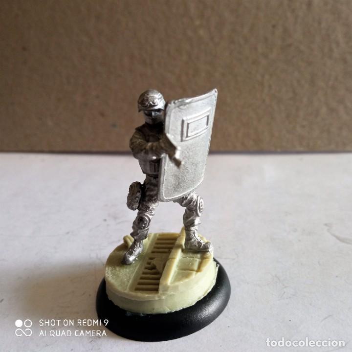 Juegos Antiguos: GORDON SWATS SET Kit METAL DC UNIVERSE BATMAN MINIATURE GAME Knight Models 35MM - Foto 5 - 270378913