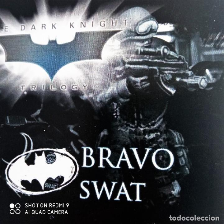 Juegos Antiguos: GORDON SWATS SET Kit METAL DC UNIVERSE BATMAN MINIATURE GAME Knight Models 35MM - Foto 6 - 270378913