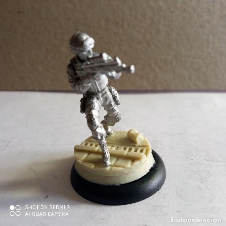 Juegos Antiguos: GORDON SWATS SET Kit METAL DC UNIVERSE BATMAN MINIATURE GAME Knight Models 35MM - Foto 7 - 270378913