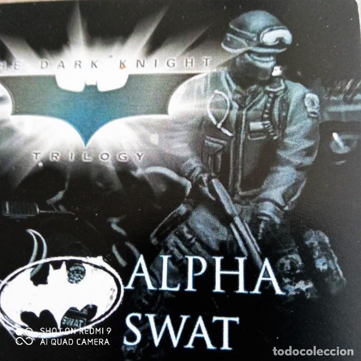 Juegos Antiguos: GORDON SWATS SET Kit METAL DC UNIVERSE BATMAN MINIATURE GAME Knight Models 35MM - Foto 8 - 270378913