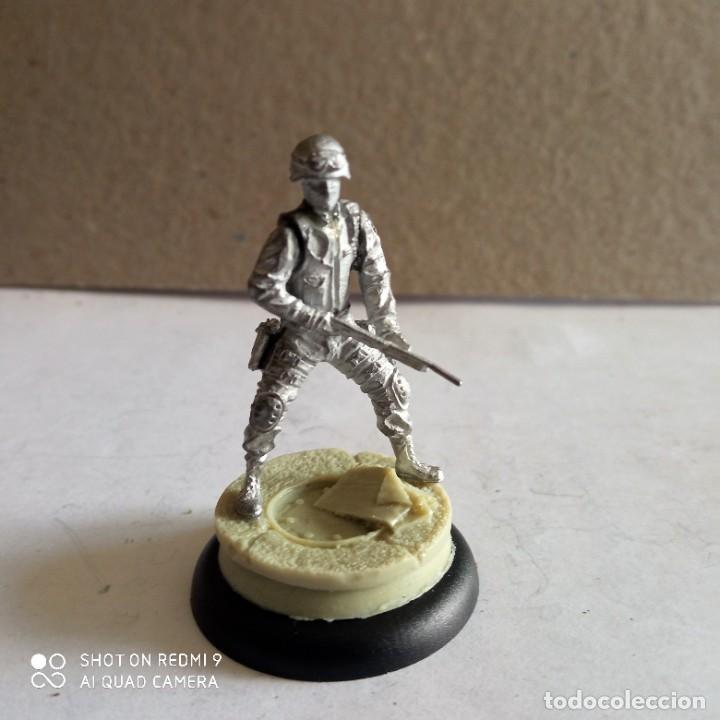 Juegos Antiguos: GORDON SWATS SET Kit METAL DC UNIVERSE BATMAN MINIATURE GAME Knight Models 35MM - Foto 9 - 270378913