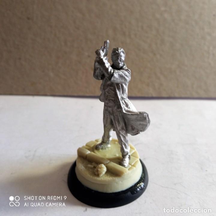Juegos Antiguos: GORDON SWATS SET Kit METAL DC UNIVERSE BATMAN MINIATURE GAME Knight Models 35MM - Foto 3 - 270378913