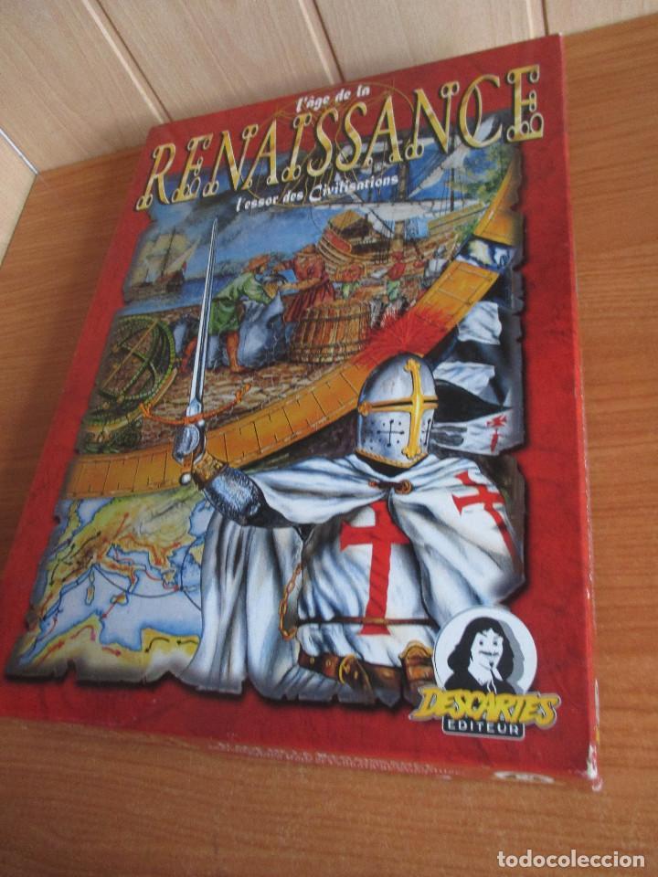 JUEGO : L AGE DE LA RENAISSANCE ( EN FRANCES ) , DESCARTES EDITEUR (Juguetes - Rol y Estrategia - Otros)