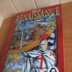 Juegos Antiguos: JUEGO : L AGE DE LA RENAISSANCE ( EN FRANCES ) , DESCARTES EDITEUR. Lote 270380733