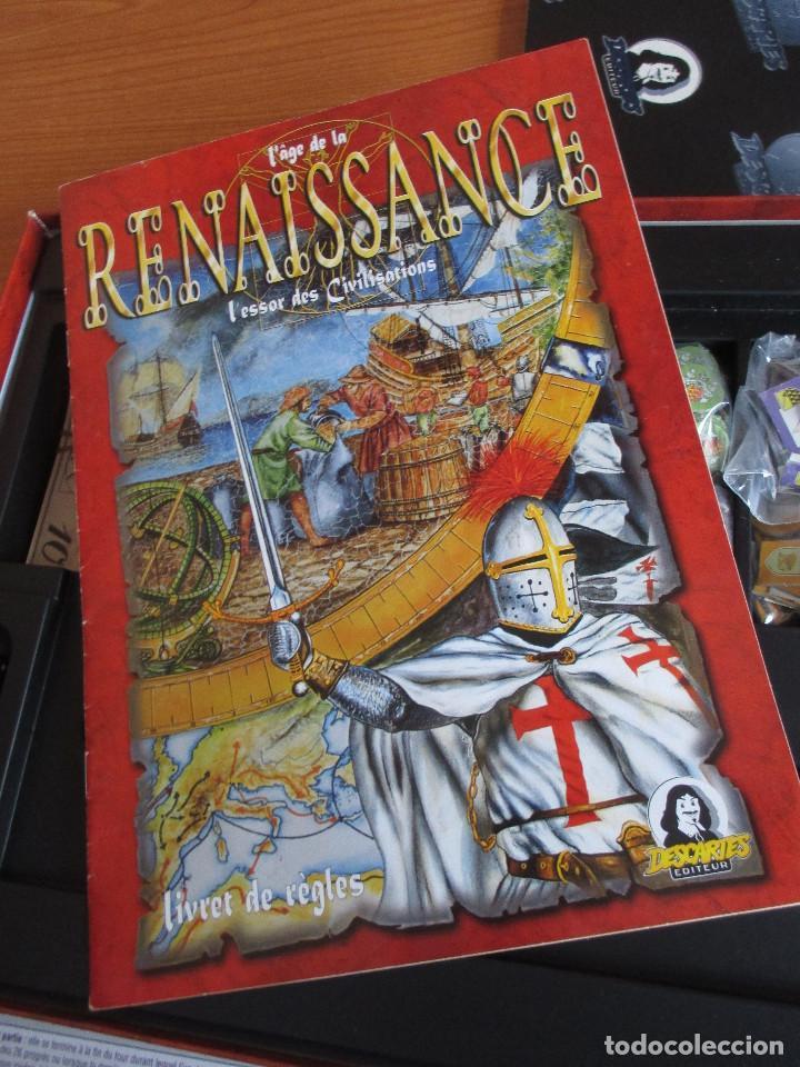 Juegos Antiguos: JUEGO : L AGE DE LA RENAISSANCE ( EN FRANCES ) , DESCARTES EDITEUR - Foto 12 - 270380733