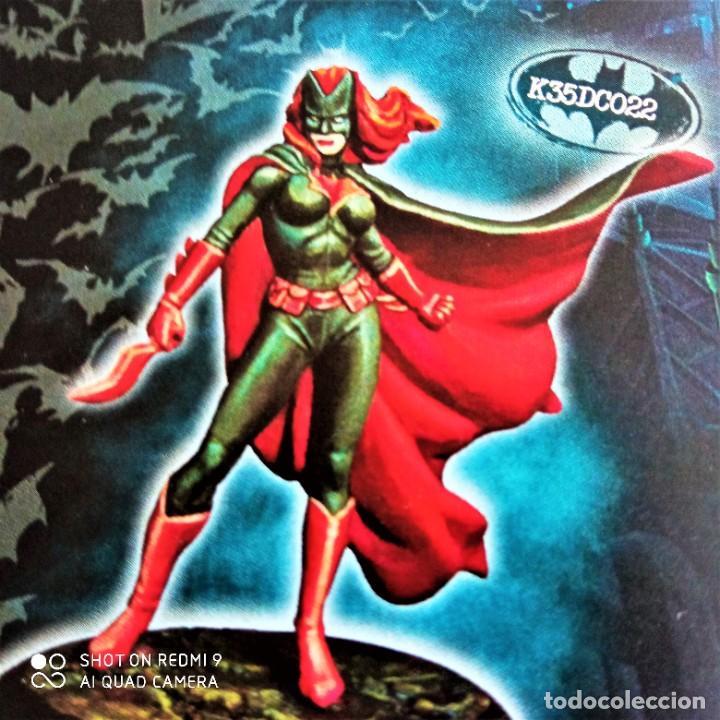 Juegos Antiguos: BATWOMAN / LAMPPOST Kit METAL DC UNIVERSE BATMAN MINIATURE GAME Knight Models 35MM - Foto 2 - 270380778