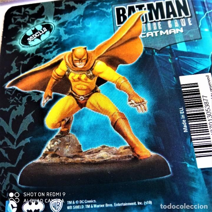 Juegos Antiguos: CATMAN Y SEWEN Kit METAL DC UNIVERSE BATMAN MINIATURE GAME Knight Models 35MM - Foto 2 - 270393648