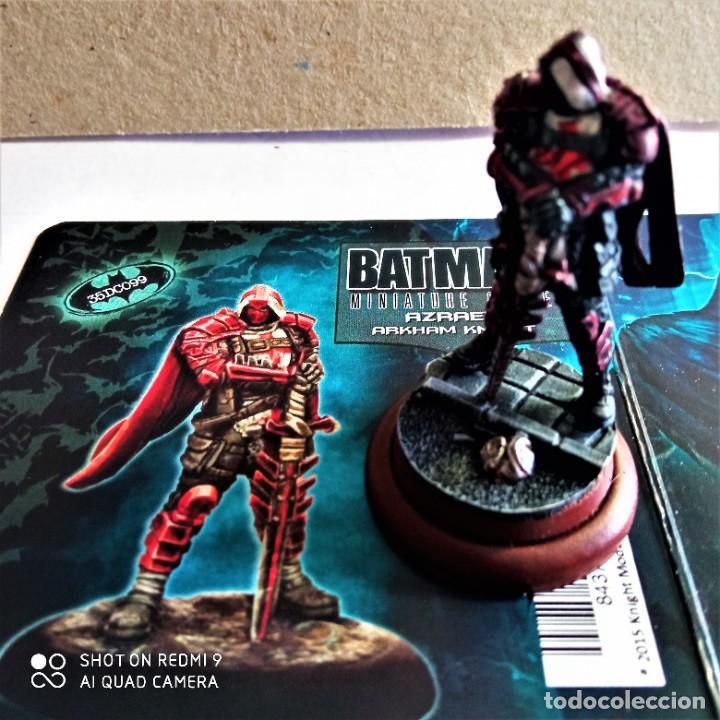 Juegos Antiguos: AZRAEL Kit METAL DC UNIVERSE BATMAN MINIATURE GAME Knight Models 35MM - Foto 2 - 270393953