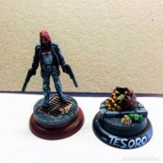Juegos Antiguos: REED HOOD / TREASURE KIT METAL DC UNIVERSE BATMAN MINIATURE GAME KNIGHT MODELS 35MM. Lote 270394463