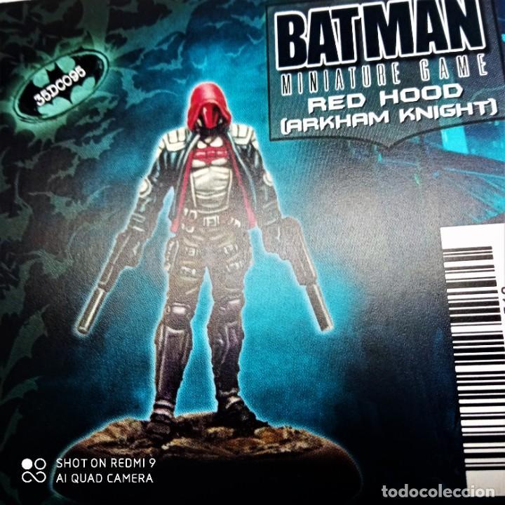 Juegos Antiguos: REED HOOD / TREASURE Kit METAL DC UNIVERSE BATMAN MINIATURE GAME Knight Models 35MM - Foto 2 - 270394463