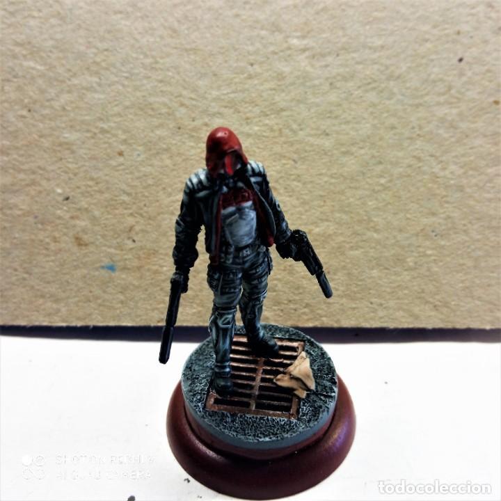Juegos Antiguos: REED HOOD / TREASURE Kit METAL DC UNIVERSE BATMAN MINIATURE GAME Knight Models 35MM - Foto 3 - 270394463