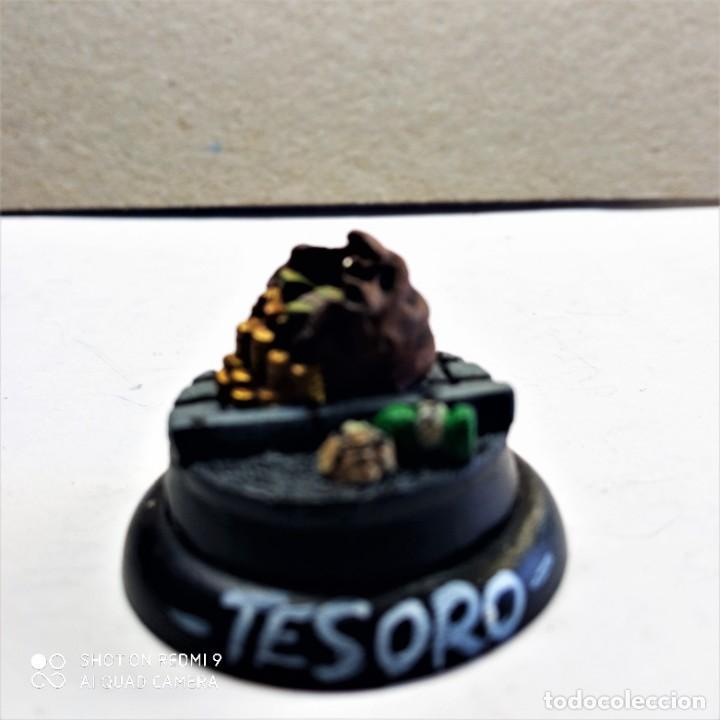 Juegos Antiguos: REED HOOD / TREASURE Kit METAL DC UNIVERSE BATMAN MINIATURE GAME Knight Models 35MM - Foto 4 - 270394463