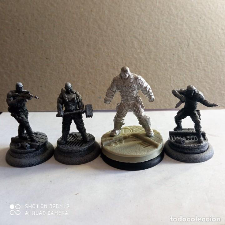 BANE CREW ARKHAM ORIGINS KIT METAL DC BATMAN MINIATURE GAME KNIGHT MODELS. 35 MM (Juguetes - Rol y Estrategia - Otros)