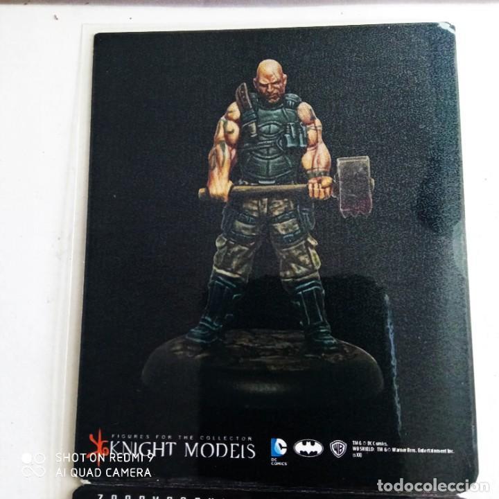 Juegos Antiguos: BANE CREW ARKHAM ORIGINS Kit metal DC BATMAN Miniature Game Knight Models. 35 mm - Foto 6 - 270396138