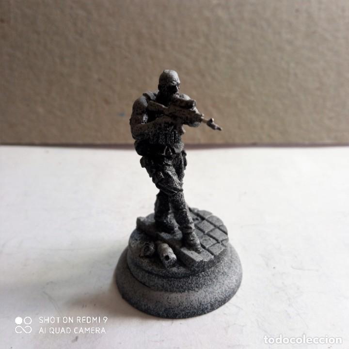 Juegos Antiguos: BANE CREW ARKHAM ORIGINS Kit metal DC BATMAN Miniature Game Knight Models. 35 mm - Foto 9 - 270396138