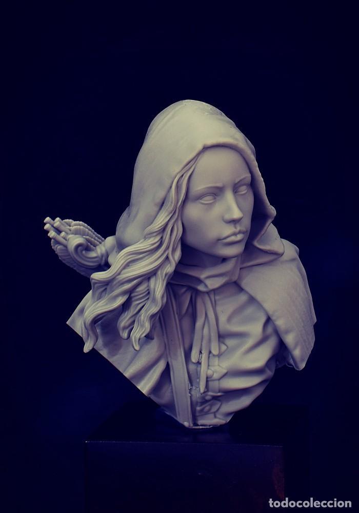 Juegos Antiguos: Alien Bust. Busto. FIGURA DE ESCALA 1:12 KIT DE RESINA PARA MONTAR Y PINTAR. NUEVO. NOCTURNA - Foto 3 - 270402213