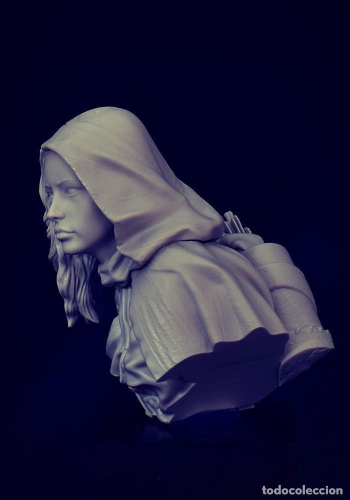 Juegos Antiguos: Alien Bust. Busto. FIGURA DE ESCALA 1:12 KIT DE RESINA PARA MONTAR Y PINTAR. NUEVO. NOCTURNA - Foto 5 - 270402213
