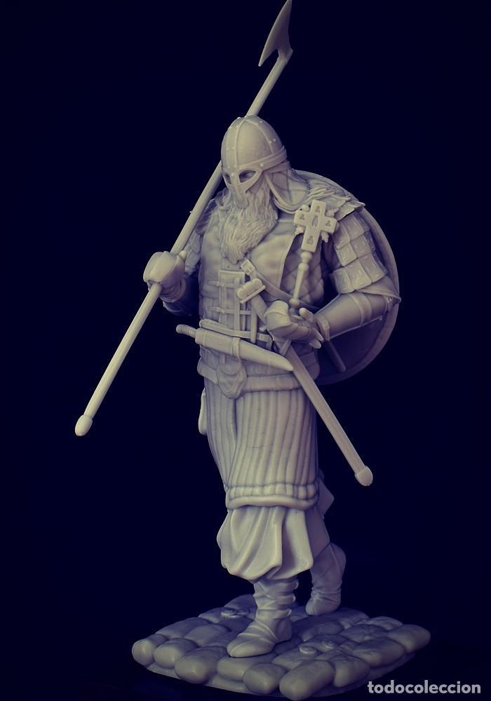 Juegos Antiguos: VIKING RAID. Vikingo. FIGURA DE ESCALA 70 MM KIT DE RESINA PARA MONTAR Y PINTAR. NUEVO. NOCTURNA. - Foto 5 - 270405363