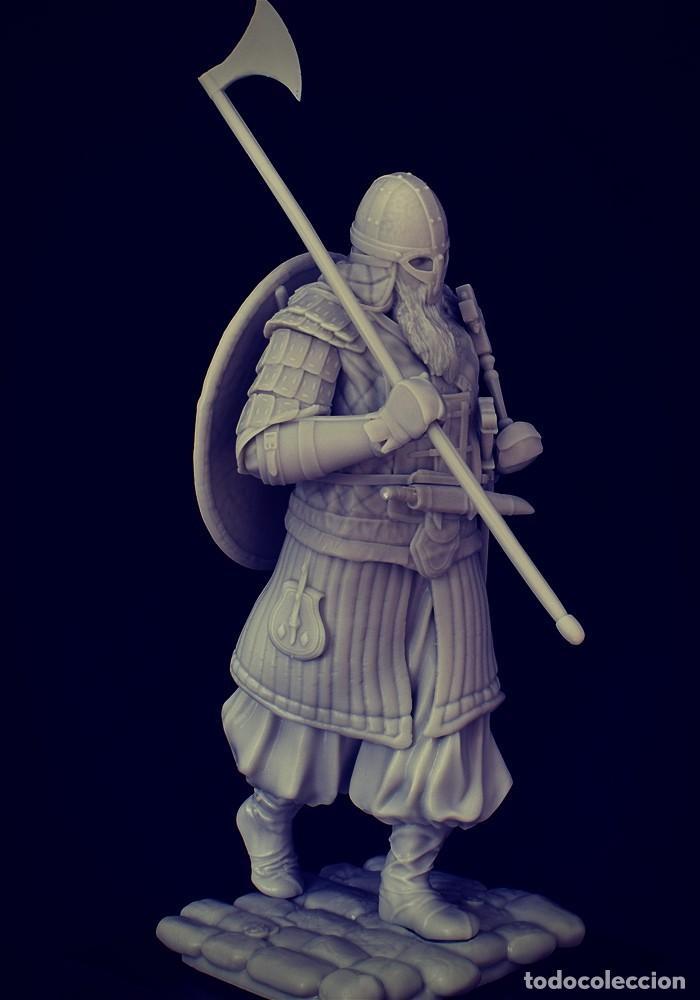 Juegos Antiguos: VIKING RAID. Vikingo. FIGURA DE ESCALA 70 MM KIT DE RESINA PARA MONTAR Y PINTAR. NUEVO. NOCTURNA. - Foto 6 - 270405363