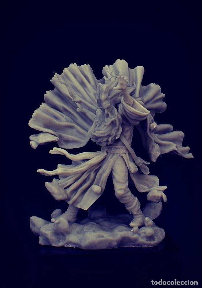 Juegos Antiguos: ANDVARE. FIGURA DE ESCALA 35 MM KIT DE RESINA PARA MONTAR Y PINTAR. NUEVO. NOCTURNA - Foto 3 - 270406843