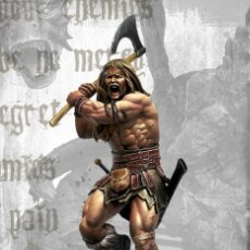 Juegos Antiguos: THUNDER FIGURA DE ESCALA 35 MM KIT DE RESINA PARA MONTAR Y PINTAR. NUEVO. NOCTURNA. Lote 270407528
