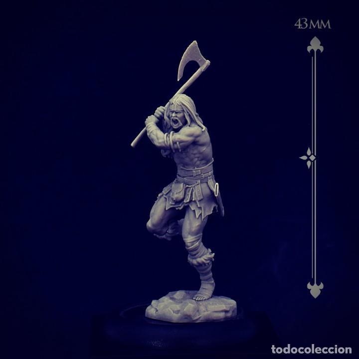 Juegos Antiguos: THUNDER FIGURA DE ESCALA 35 MM KIT DE RESINA PARA MONTAR Y PINTAR. NUEVO. NOCTURNA - Foto 2 - 270407528