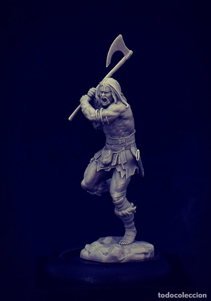 Juegos Antiguos: THUNDER FIGURA DE ESCALA 35 MM KIT DE RESINA PARA MONTAR Y PINTAR. NUEVO. NOCTURNA - Foto 3 - 270407528