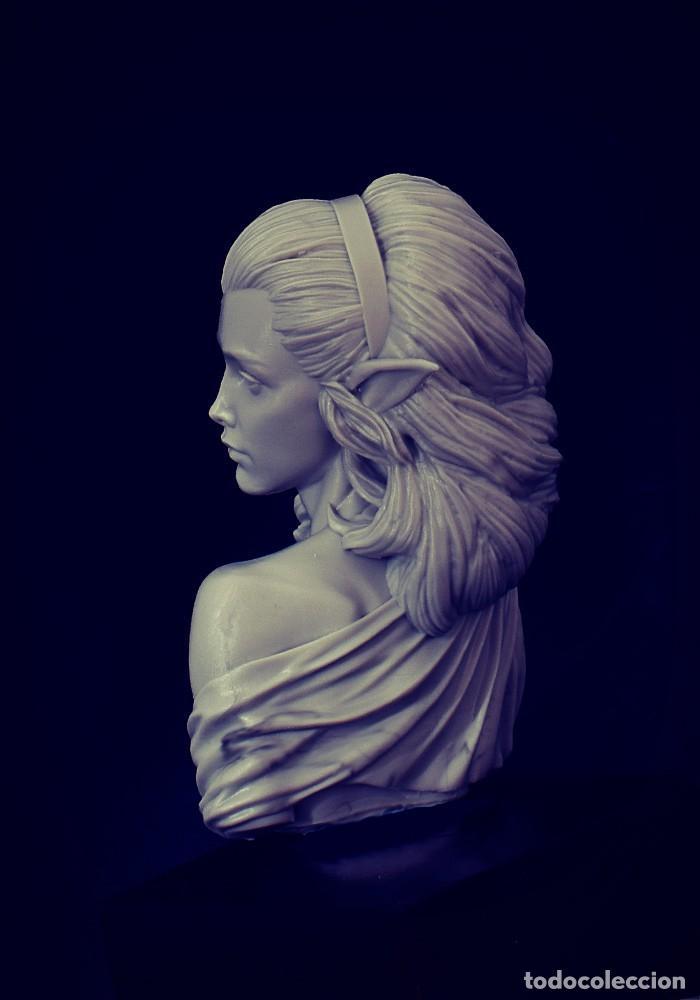 Juegos Antiguos: ESTHEL Bust. Busto. FIGURA DE ESCALA 1:12 KIT DE RESINA PARA MONTAR Y PINTAR. NUEVO. NOCTURNA - Foto 5 - 270409323