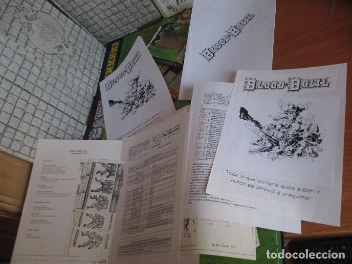 Juegos Antiguos: WARGAME O JUEGO DE ESTRATEGIA : BLOOD BOWL - Foto 10 - 270532288
