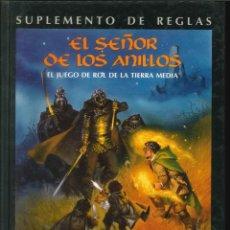 Juegos Antiguos: EL SEÑOR DE LOS ANILLOS SUPLEMENTO DE REGLAS JOC INTERNACIONAL. Lote 270533233