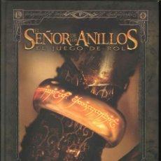 Juegos Antiguos: EL SEÑOR DE LOS ANILLOS EL JUEGO DE ROL LIBRO BÁSICO LA FACTORÍA. Lote 270534223