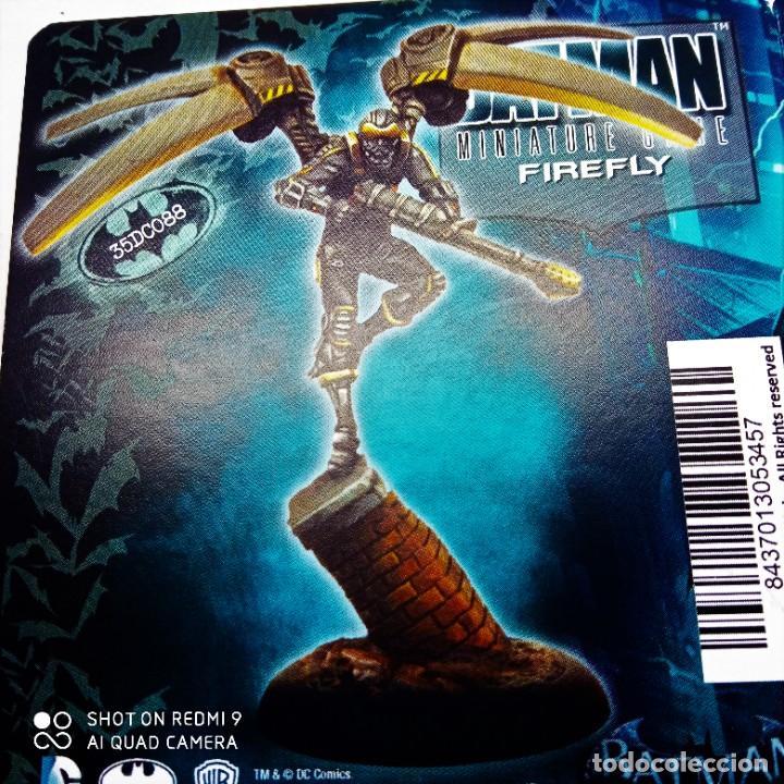 Juegos Antiguos: FIREFLY Y SEWEN Kit METAL DC UNIVERSE BATMAN MINIATURE GAME Knight Models 35MM - Foto 2 - 270599098