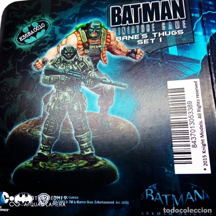 Juegos Antiguos: BANE´S THUGS SET 1 Kit METAL DC UNIVERSE BATMAN MINIATURE GAME Knight Models 35MM - Foto 2 - 270606523