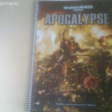 Juegos Antiguos: WARHAMMER 40000 - APOCALYPSE. Lote 271533103