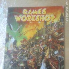 Juegos Antiguos: GAMES WORKSHOP EL UNIVERSO DE LOS JUEGOS. Lote 271534093
