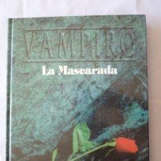 Juegos Antiguos: VAMPIRO LA MASCARADA REGLAMENTO BÁSICO 2ª VERSIÓN 2ª ED LA FACTORÍA DE IDEAS 1995. Lote 271544348