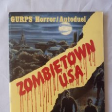 Juegos Antiguos: GURPS ZOMBIETOWN. MODULO JUEGO ROL 1988, ORIGINAL USA. Lote 271550608
