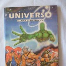 Juegos Antiguos: UNIVERSO JUEGO DE ROL + PANTALLA ED CRONOPOLIS 1993. Lote 271551153