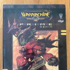 Juegos Antiguos: WARMACHINE , PRIME REMIX - COMBATE CON MINIATURAS STEAMPUNK - TAPA DURA - GCH. Lote 272557463