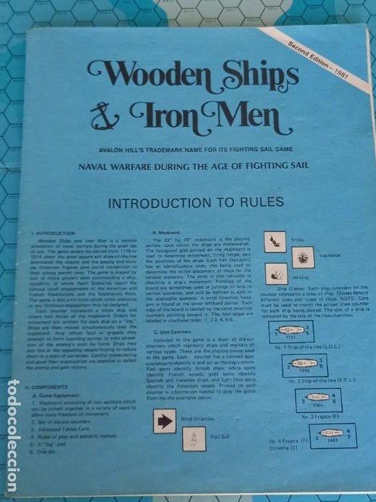 Juegos Antiguos: Wargame Wooden ships, iron men , avalon hill - Foto 4 - 272769478