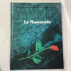 Giochi Antichi: VAMPIRO LA MASCARADA SEGUNDA VERSION JUEGO ROL LA FACTORIA WHITE WOLF - CON DEFECTO -. Lote 272858298