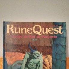 Juegos Antiguos: RUNE QUEST ~ JUEGO DE ROL DE FANTASIA. Lote 273383158