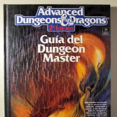 Juegos Antiguos: ADVANCED DUNGEONS & DRAGONS. GUÍA DEL DUNGEON MASTER - BARCELONA 1992 - ILUSTRADO. Lote 273903973