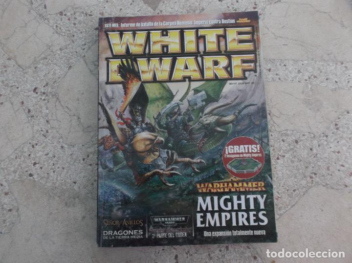 WHITE DWARF Nº 147, WARHAMMER MIGHTY EMPIRES, DRAGONES TIERRA MEDIA, (Juguetes - Rol y Estrategia - Otros)