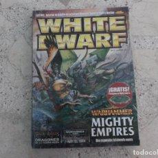 Juegos Antiguos: WHITE DWARF Nº 147, WARHAMMER MIGHTY EMPIRES, DRAGONES TIERRA MEDIA,. Lote 275663428