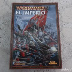 Juegos Antiguos: WARHAMMER, EL IMPERIO,GAMES WORKSHOP, 96 PAGINAS ,CON ILUSTRACIONES. Lote 275668198