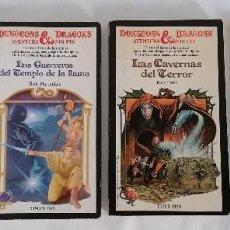 Juegos Antiguos: DUNGEONS & DRAGONS LOTE LIBROS AVENTURA SIN FIN + LIBRO HECHIZOS. Lote 275740983