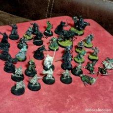 Juegos Antiguos: LOTAZO EL SEÑOR DE LOS ANILLOS METAL WARHAMMER ALGUNAS PINTADAS. Lote 275744813